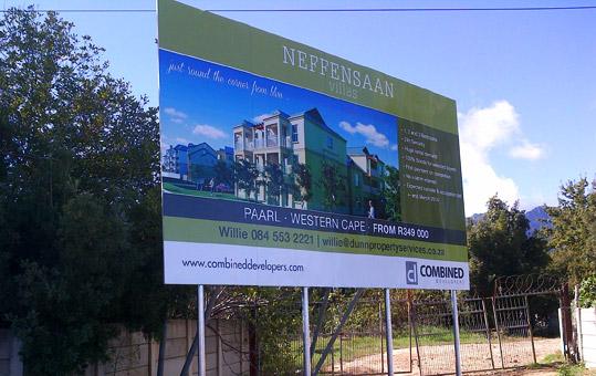 Neffensaan Villas Design Your Sign