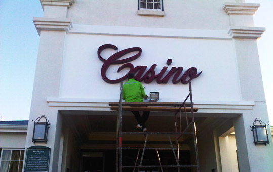 Lodge And Casino Design Your Sign